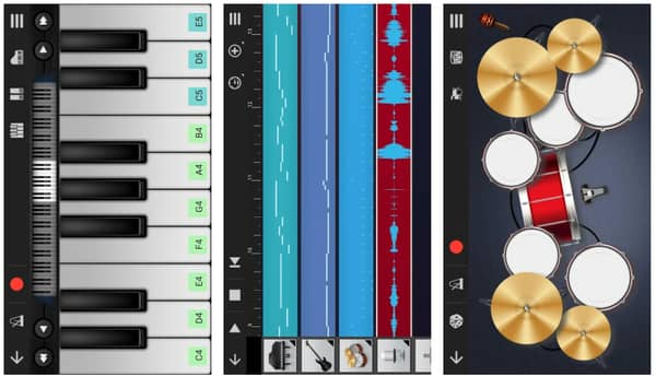 garageband apps for android