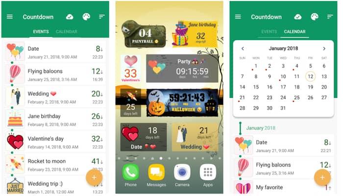 Countdown Days App