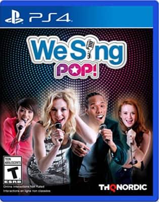 ps4 Karaoke game - We sing pop!