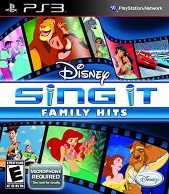 ps4 Karaoke game - Disney sing it