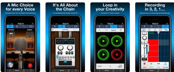 auto tune apps for iOS