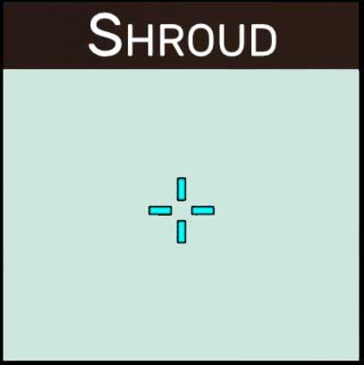 shroud valorant crosshair