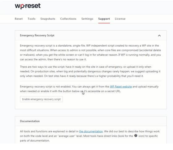 WordPress Emergency Recovery Script