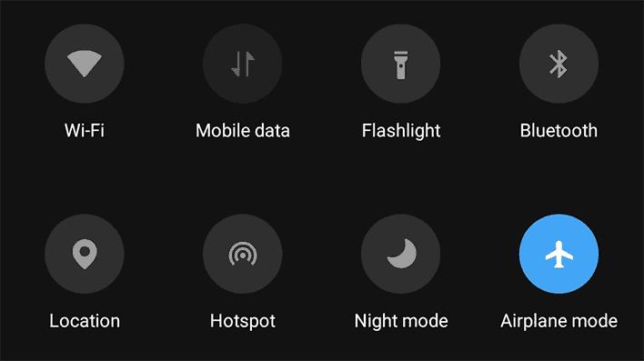 Take Screenshots On Snapchat Using Airplane mode