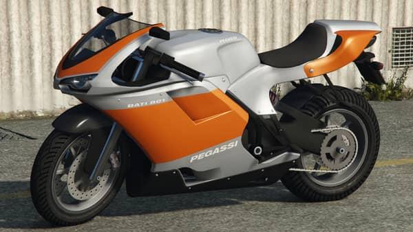Pegassi Bati 801 - Fastest bike in GTA 5 Online 2021