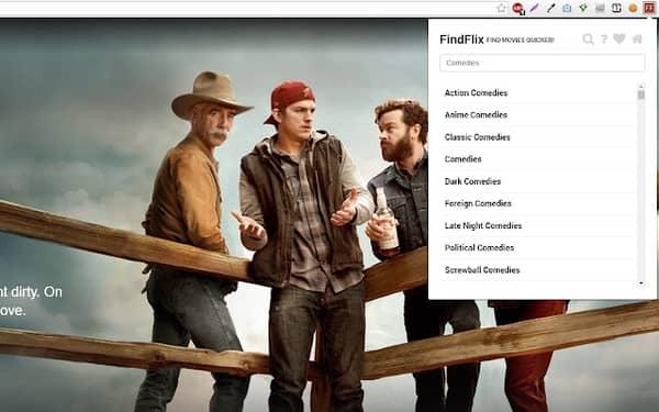 Find Hidden Netflix Shows Extension