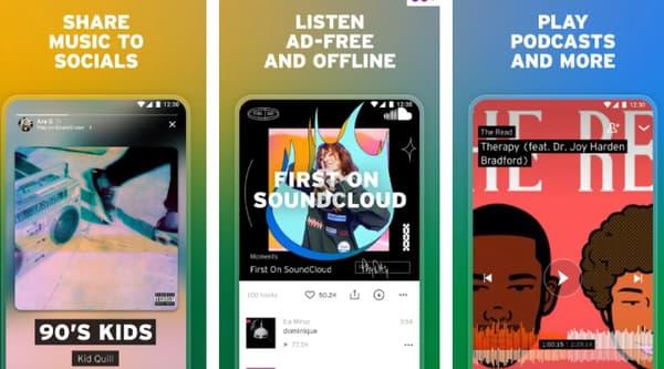 Free music download for offline listening