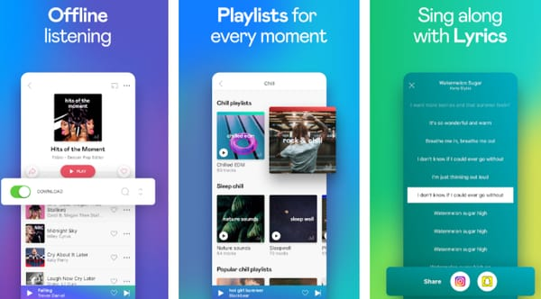 Offline music apps for iPhone