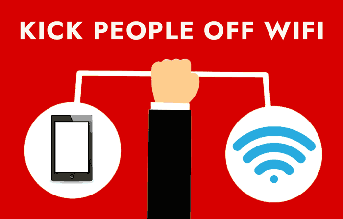 How to Kick People Off Your Wi Fi