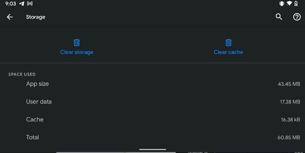 clear storage and ca 4Aegc