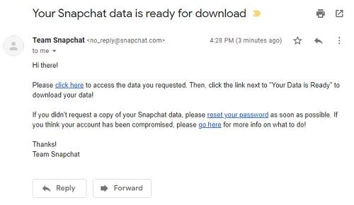 email snap