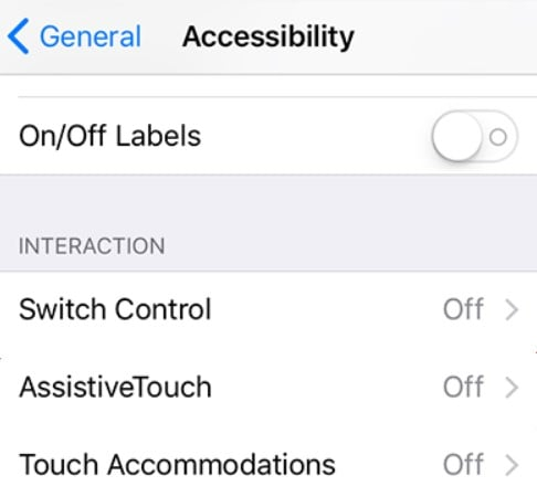 interaction assistive