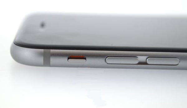iphone ringer button